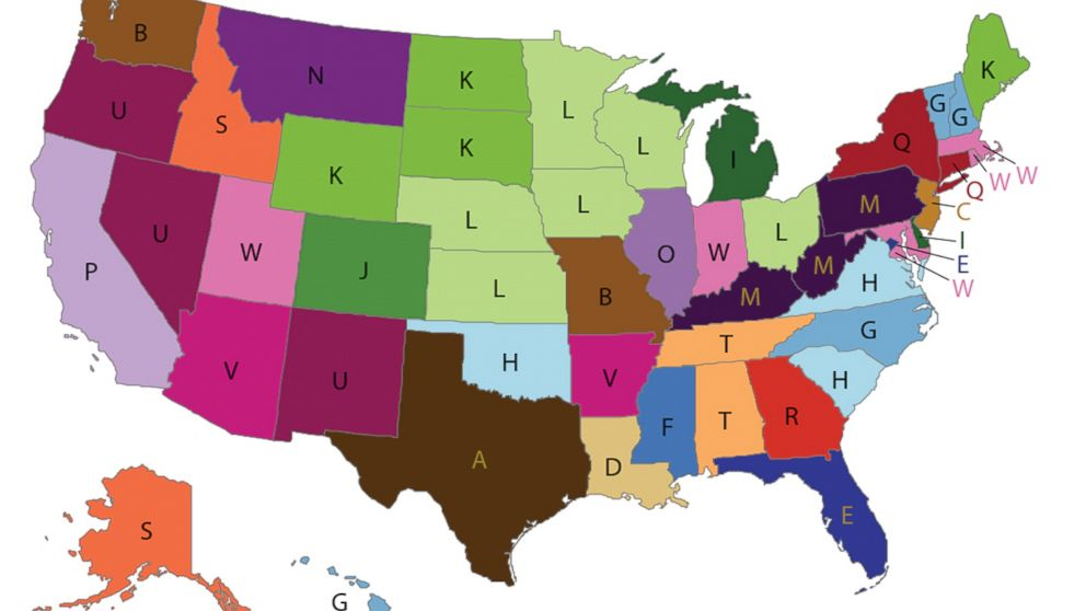Map Breaks Down Most Distinctive Causes Of Death For Each State Abc News