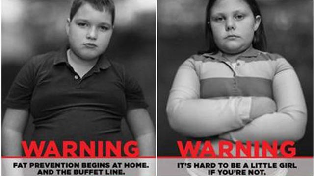 PHOTO: Childrens Healthcare of Atlantas Strong4Life campaign features a series of TV and print ads with statements made by overweight children.