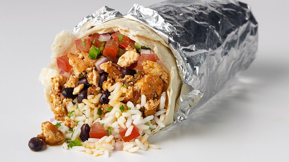PHOTO: Vegan Sofrita burrito