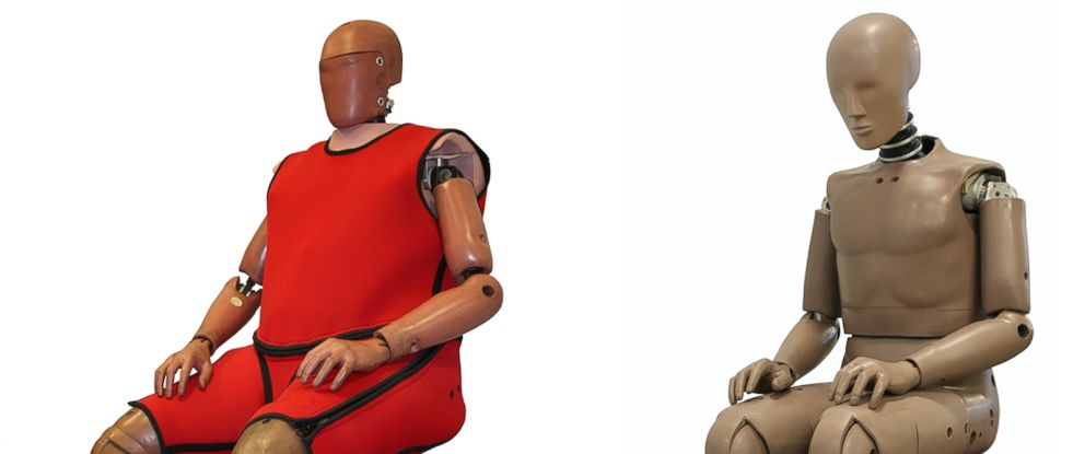 PHOTO: New Humanetics crash test dummies are modeled after a 270-pound person.