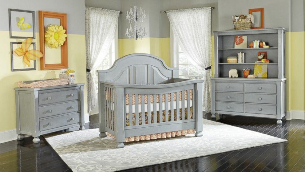 Vintage Grey Cribs Recalled Over Lead Paint ABC News