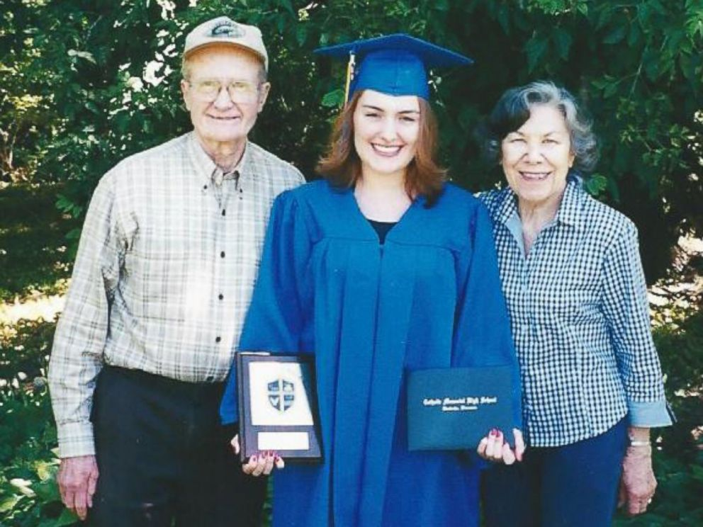 PHOTO: Erika Star poses with her grandfather, who was cryonically frozen when he died in 2007.