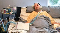 Photo: PARALYZED ACCIDENT VICTIM FIGHTS FOR RIGHT TO DIE