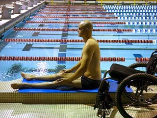 Swimmer Comes Back From Paralysis
