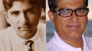 Deepak Chopra as a teenager in this undated photo in New Delhi, India./Chopra is shown in 2006.