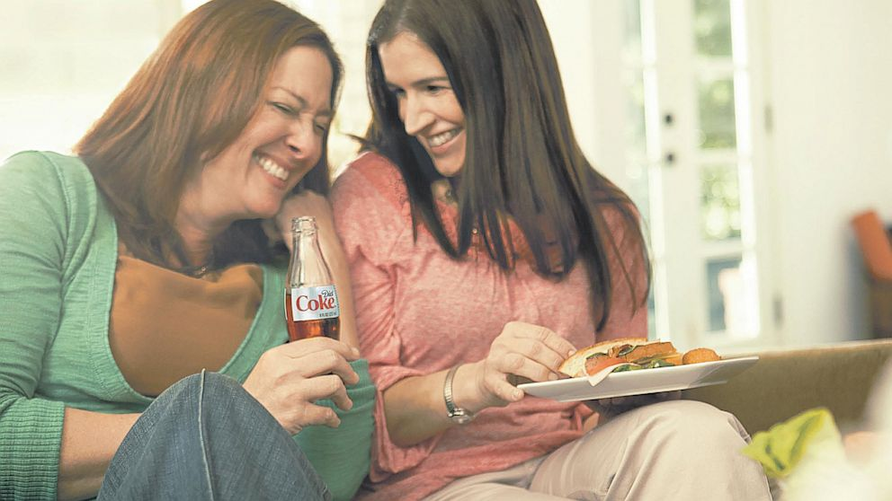 PHOTO: A New Diet Coke Ad Defends Use of Aspartame.