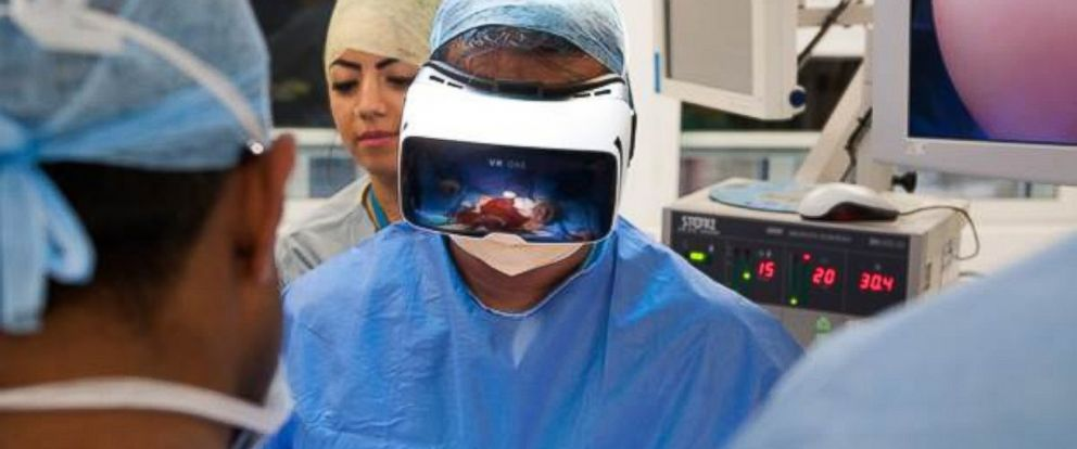 PHOTO: Dr. Shafi Ahmed wants to create virtual reality surgeries for med students.