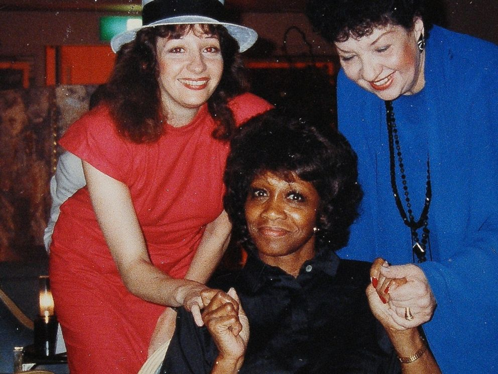 Dolly Baker and Shira LHeureux with Selena Jones