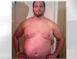 PHOTO: Personal trainer Drew Manning, 30, has purposefully gained weight in order to lose it again.