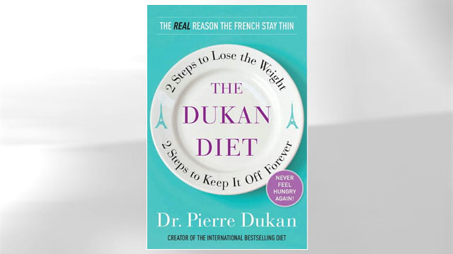 PHOTO The cover of the book titled &quot;Dukan Diet&quot; is shown.