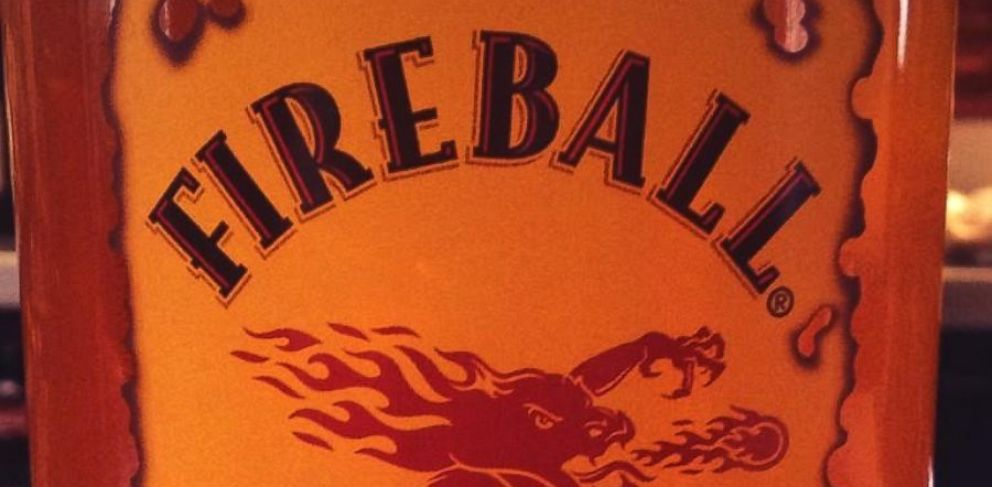 PHOTO: A bottle of Fireball Whisky is pictured.