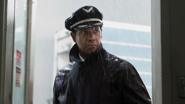"PHOTO: Denzel Washington stars in ""Flight."""