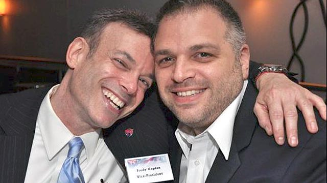 PHOTO: Fredy H. Kaplan and Anthony Cipriano have their names in the New York City lottery to be among the first gay couple to marry.