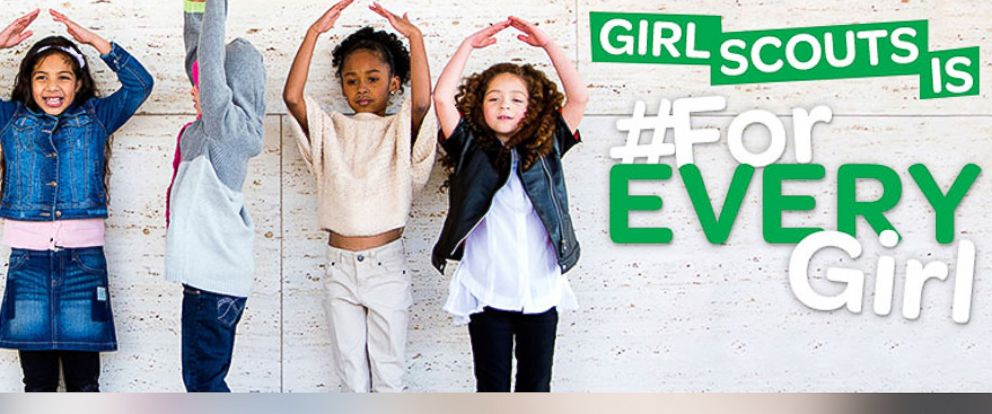 "PHOTO: Girl Scouts of Western Washington posted this photo on their Facebook with the caption, ""Girl Scouts is #ForEVERYGirl!"""