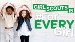PHOTO: Girl Scouts of Western Washington posted this photo on their Facebook with the caption, Girl Scouts is #ForEVERYGirl!