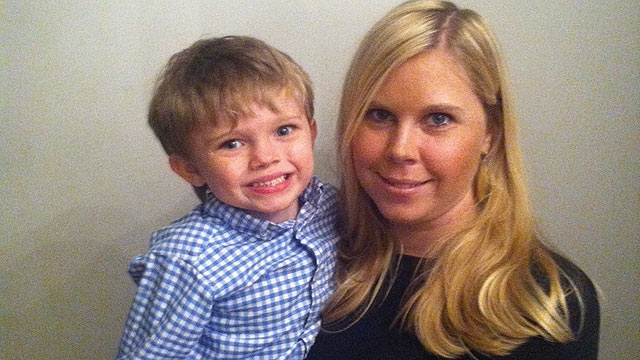 PHOTO: Ali Bergstrom and her son, Chille.