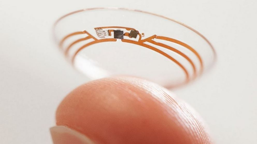 PHOTO: Google has unveiled a prototype of a lens implanted in the eye that can measure the glucose levels of diabetics.