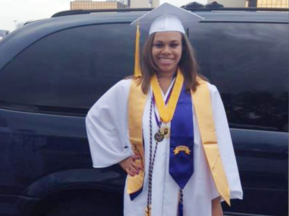 PHOTO: Nikki Smith poses for a photo on the day of her high school graduation.