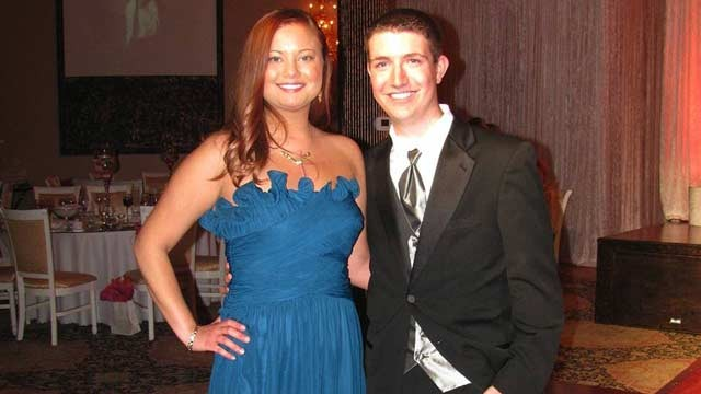 PHOTO: Linda Thibodeaux and Jordan Merecka in January of 2012, just months after both got new hearts.