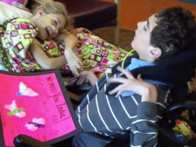 Girl With Cerebral Palsy Gets Hospital Visit From Boyfriend