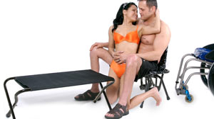 PHOTO Swing Chair and Other Sexual Aids Help Disabled Enjoy Sex Again