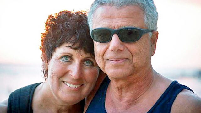 PHOTO: Jeri Orfali died painfully at 56, and now her husband Robert supports
