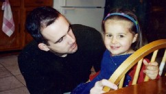 PHOTO: Joe Lastinger and his daughter Emily, who died of the flu at the age of 3.