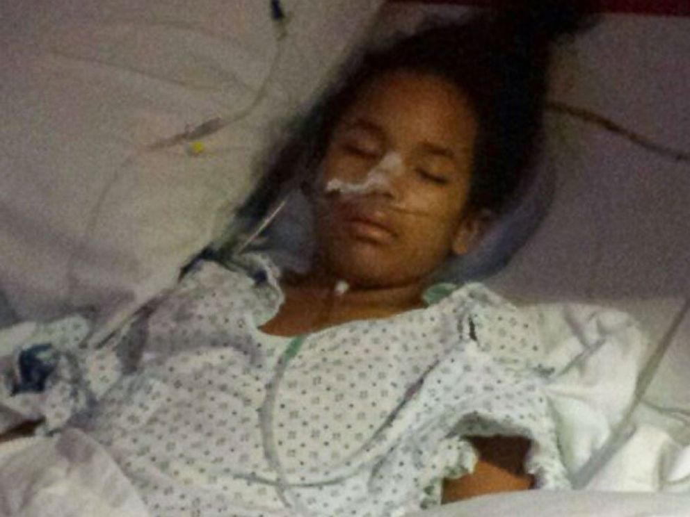 PHOTO: Journee underwent a 10-hour surgery, but the tumor wasnt cancerous.