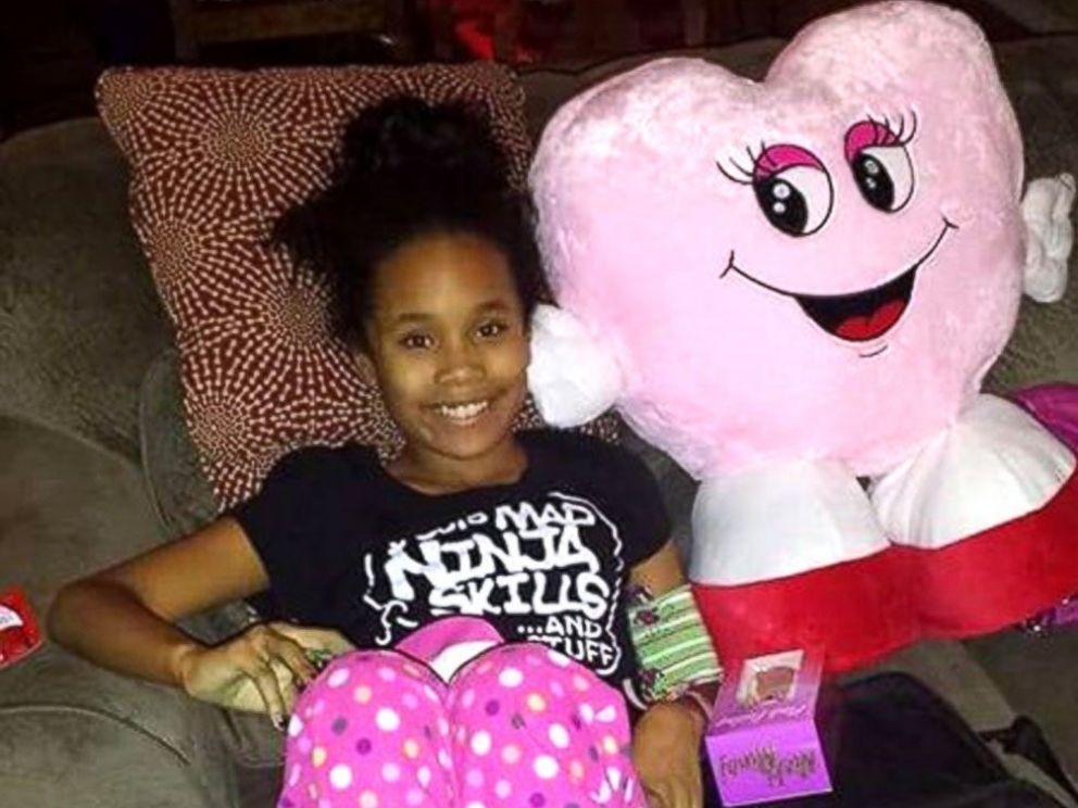PHOTO: Journee left the hospital on Thursday and is now recovering at home.