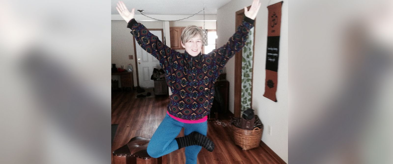 """PHOTO: Kathy Hart told ABC News """"Nightline"""" that she was inspired to donate her kidney while doing yoga."""