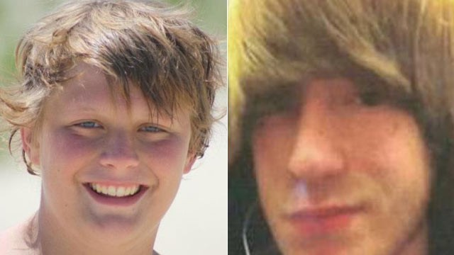 PHOTO: Skylar Marion (right), a 15-year old classmate of Kyle Wilkerson, who died in a hit and run accident, had his heart transplanted into Kyle (left).