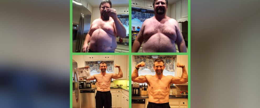 PHOTO: Casey Walker, 42, lost 118 pounds in less than two years.