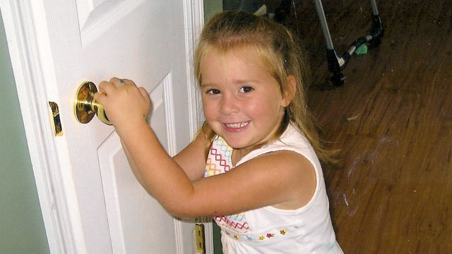 PHOTO: Mallory Francis snoring may have led to early behavior problems, her mother believes.