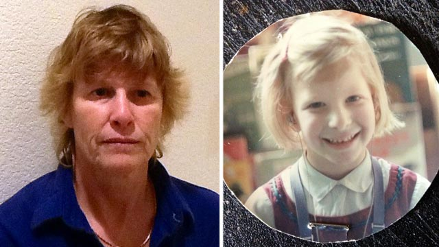 PHOTO: Marlene Hodge, as a 52-year-old adult and as a 6-year-old.