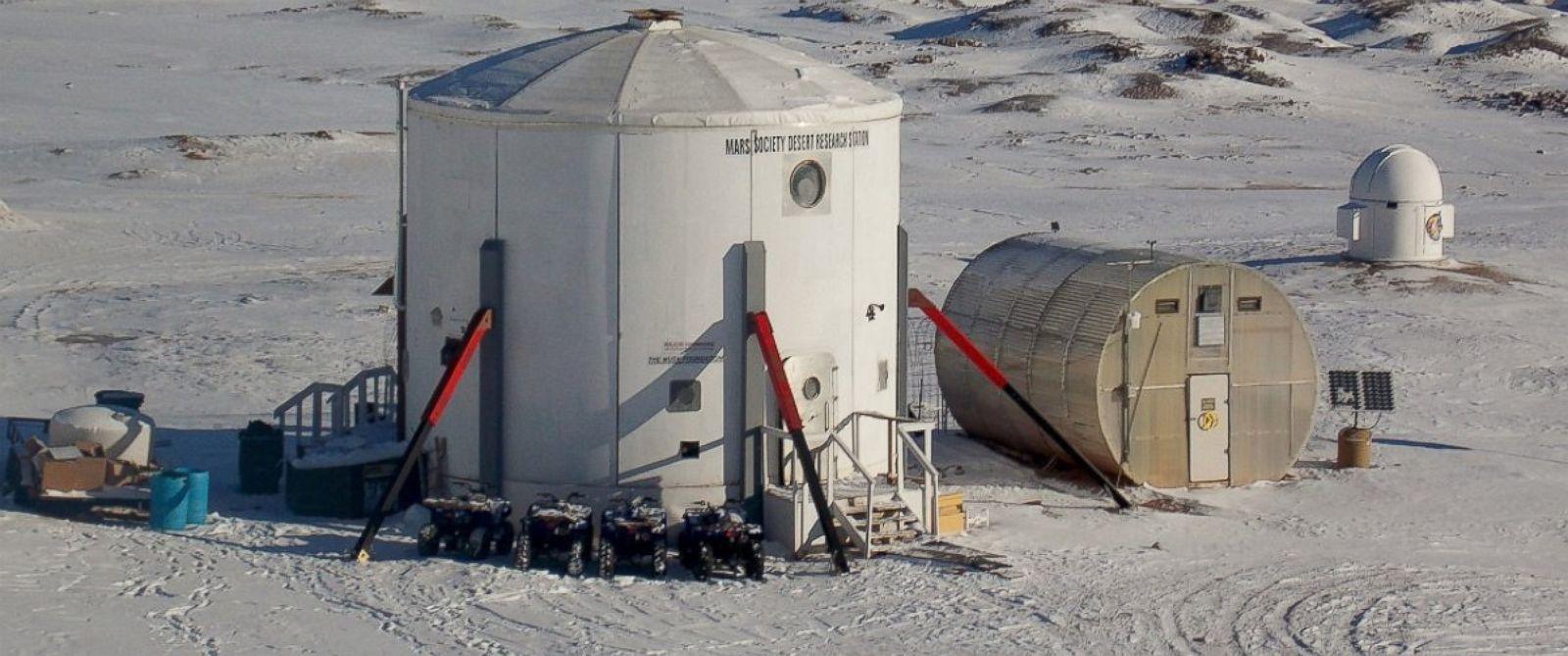 PHOTO: The Mars Mission Desert Research Station in Hanksville, Utah.
