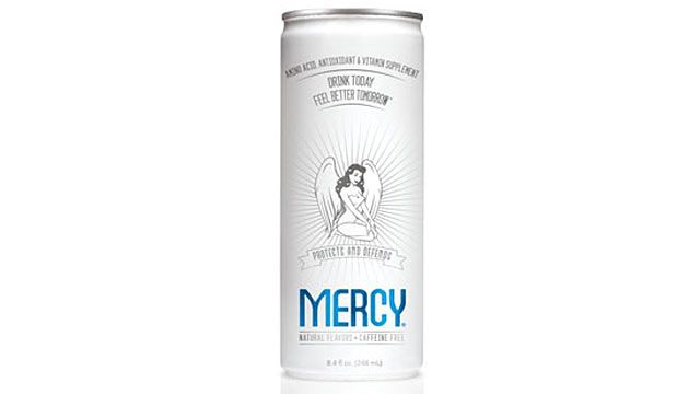 PHOTO: Mercy hang over cure.