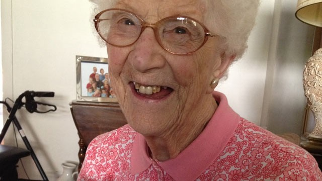 PHOTO: 105-year-old Edythe Kirchmaier, seen here in this undated handout photo, is Facebook's oldest user.
