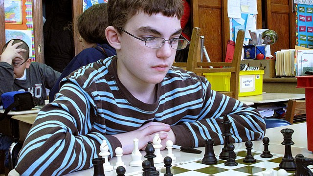 "PHOTO: Patrick Johnston, 11 when ""Brooklyn Castle"" was filmed, learned concentration and perseverance with the game of chess."
