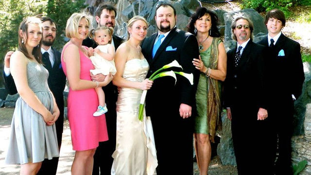 PHOTO: Patty Peterson, 56, is pictured here at the wedding of her son Isaac and his wife, Andrea.