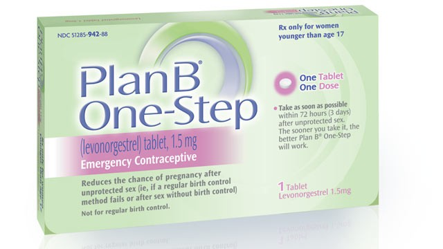 PHOTO: Seen here in this file photo is Plan B One-Step emergency contraceptive.