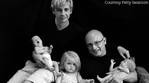 Photo: For more than two years, Tony and Shawn Raftopol, Americans who live in Holland, worried that only one of them was the legal parent of their young twin boys.