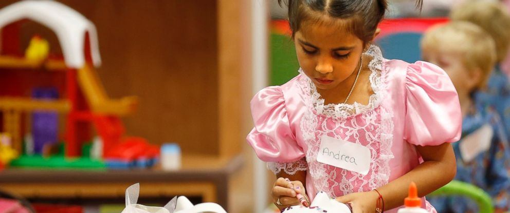 PHOTO: Kids get to pick their favorite Halloween outfit from dozens of donated costumes.