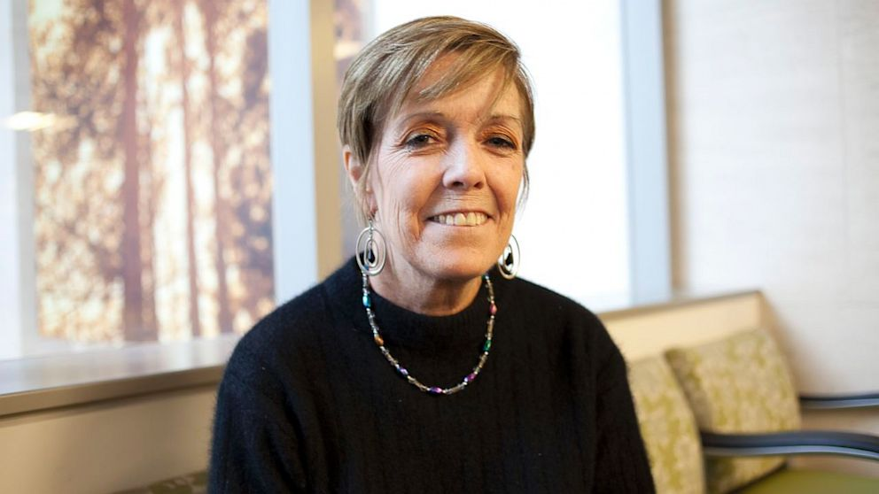 PHOTO: Rosemary McGinn, 54, spent two years with a tumor on her pancreas.