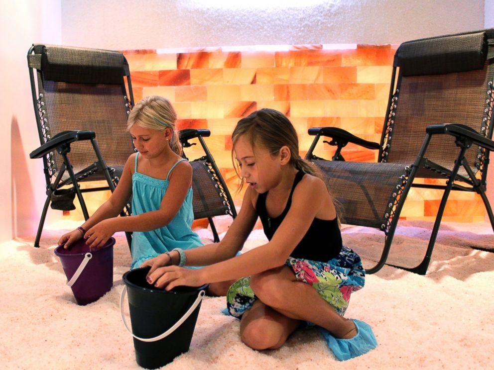 PHOTO: Childrens salt room, the Salt Sanctuary, Johnson City, New York.
