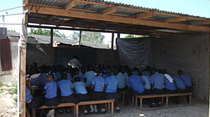 Photo: Be the Change: Students Help Haiti Rebuild: A Year After the Haiti Earthquake, U.S. Students Raise Funds