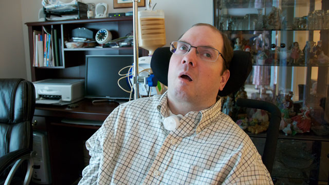 PHOTO: Scott Routley, who suffered severe brain damage in a car accident, told researchers though his brain activity that he was not in pain.