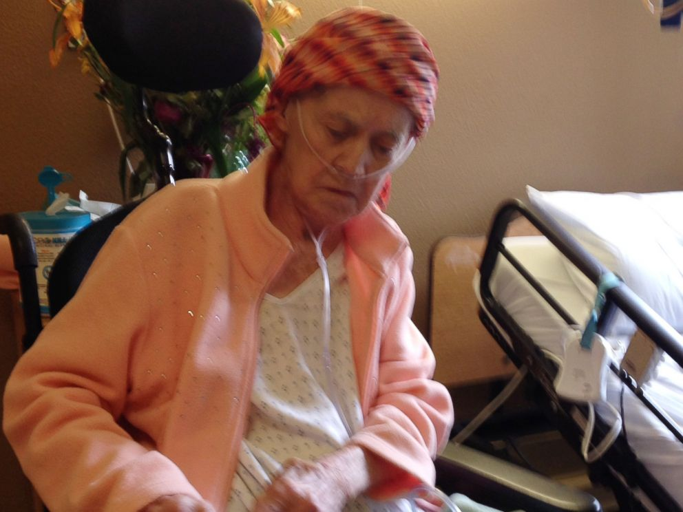 PHOTO: Shirley Frey survived a brain bleed, but didnt survive the food-borne illness she got from the apple, her son says.