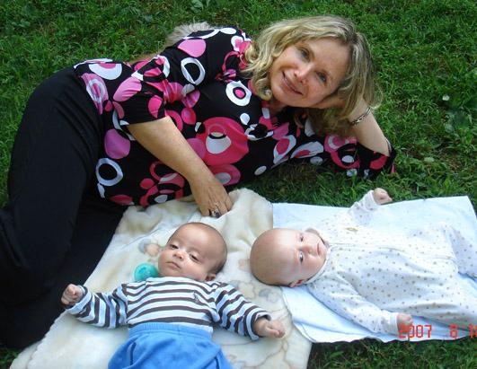 Frieda Birnbaum gave birth to twin boys when she was 60.