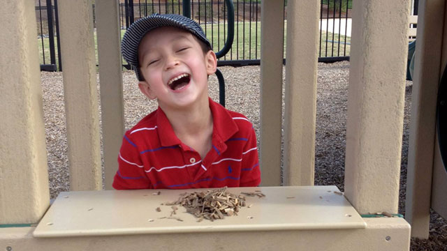 "PHOTO: Sam ""Spike"" Parrent, 6, of North Carolina has been healthy and seizure-"