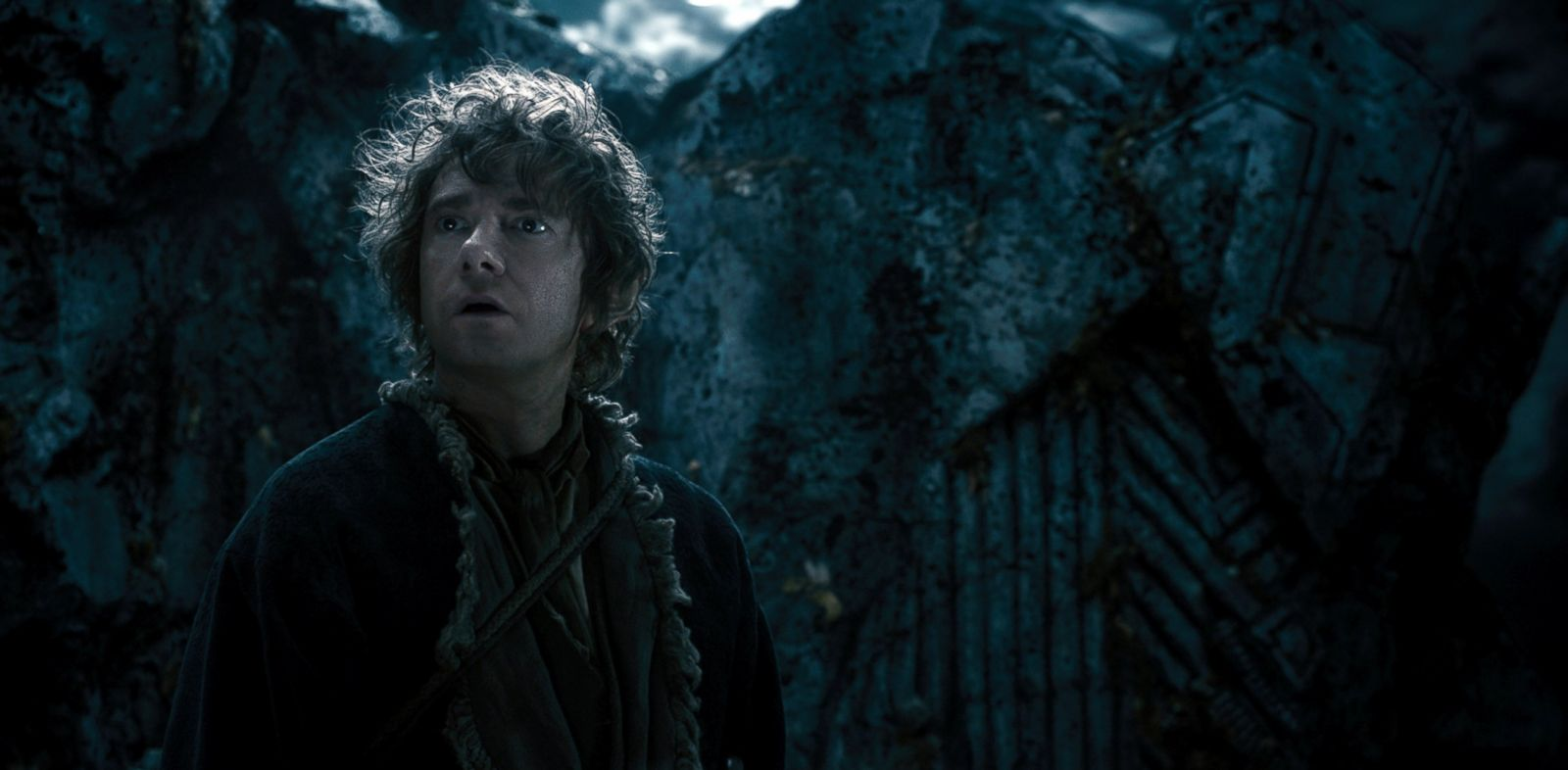 "PHOTO: Martin Freeman stars as Bilbo in the film ""The Hobbit: The Desolation of Smaug."""